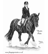 Pferdeportraits Kohle Galerie