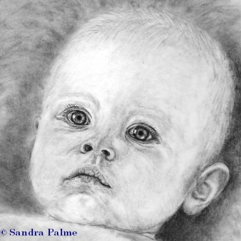 Baby Head Portrait