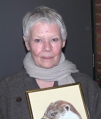 Judi Dench and Portrait