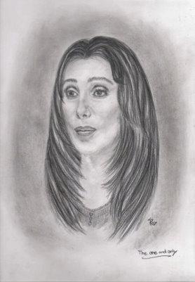 Cher Zeichnung