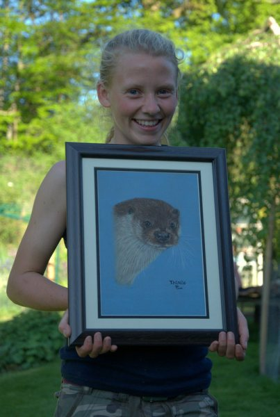 Otter-Portrait