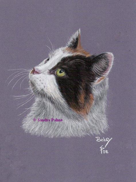 Pastell Zeichnung